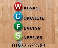 Walsall Concrete Fencing Supplies
