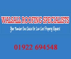 Walsall Roofing Specialists