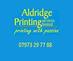 Aldridge Print Walsall